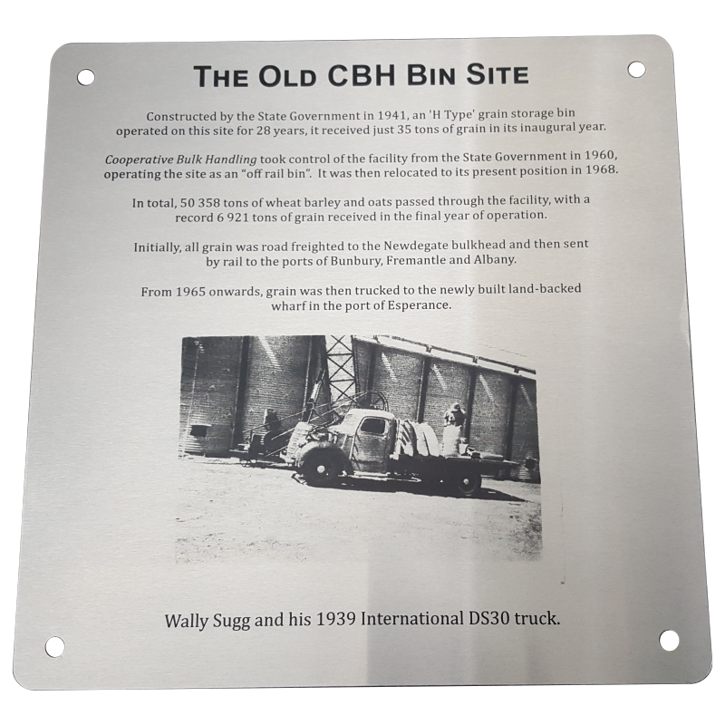 Stainless Steel Plaque with Photo